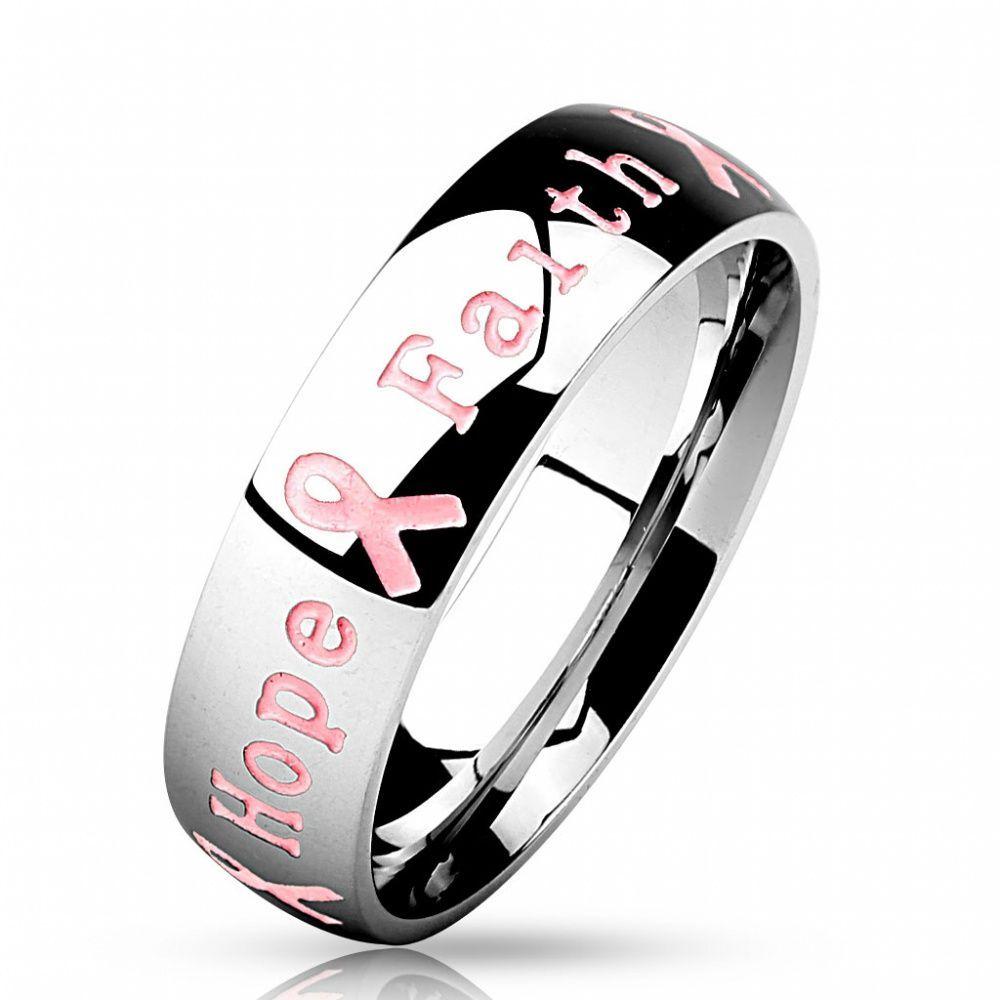 Кольцо с надписью Мужество Сила Надежда Вера