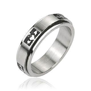 Кольцо с символом Кладдах